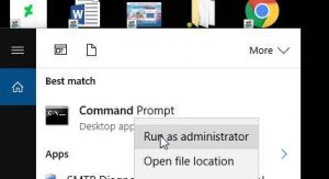 Run the command box
